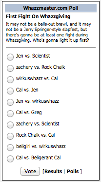 Whazzgiving Fight Poll